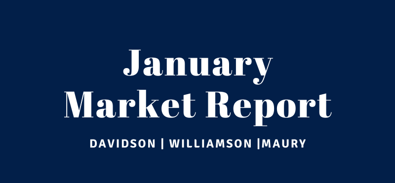 January Market Report for Williamson, Davidson and Maury County