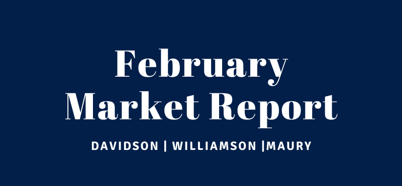 February Market Report for Williamson, Davidson and Maury County
